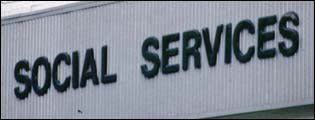 Social services signs