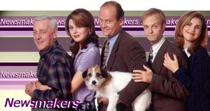 The cast of Frasier