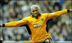 Wolves striker George Ndah
