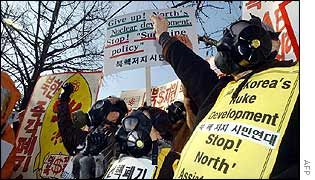 Anti-North Korea rally in Seoul