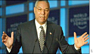 Colin Powell in Davos