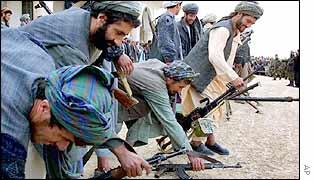 Afghan gunmen