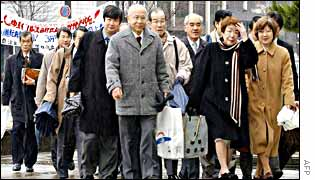 The plaintiffs in the Monju reactor case