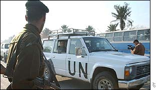 UN inspections team in Iraq