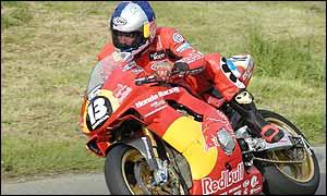 Ballymoney rider Adrian Archibald