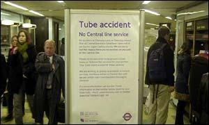Tube accident