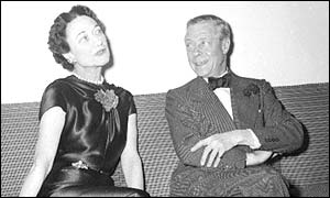 The Duke and Duchess of Windsor in 1954