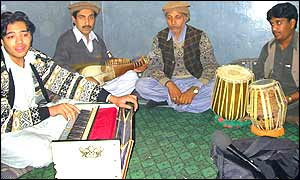 Pakistan musicians in NWFP