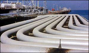 Oil pipeline between Iraq and Kuwait