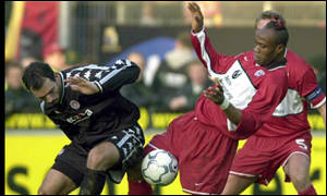 Taribo is one of Africa's most experienced defenders