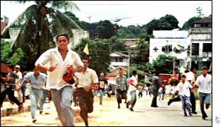 Clashes in Ambon in 1999