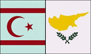 Turkish Cypriot and Greek Cypriot flag