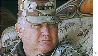 Norman Schwarzkopf, pictured in 1991