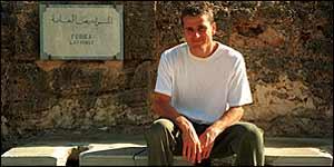 Ben at Leptis Magna, Libya