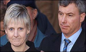 Sally Clark and her husband Stephen
