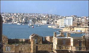 Malta's capital Valetta