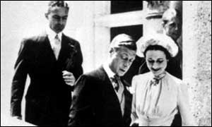 The Duke of Windsor and Wallis Simpson marry