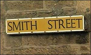 Smith Street sign