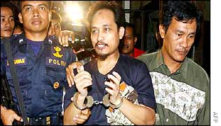 Alleged Bali bomb mastermind Imam Samudra (c)