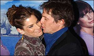 Sandra Bullock and Hugh Grant