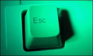 Escape key, BBC