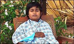 Former child soldier Renuka
