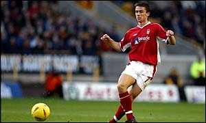 Nottingham Forest midfielder David Prutton heads to Southampton