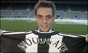 Jonathan Woodgate has joined the Toon Army