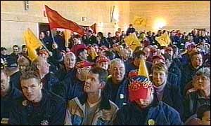 Fire strike rally
