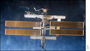 Nasa file photo dated 2 December 2002, as seen from space shuttle Endeavour