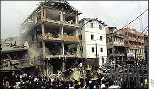 Scenes of devastation in Lagos