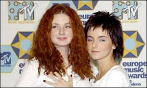 Julia Volkova and Lena Katina, aka Tatu