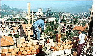 Re-building in Bosnia