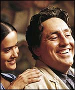 The film also stars Alfred Molina as Kahlo's husband Diego Rivera