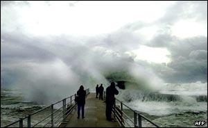 Storms, AFP