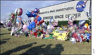Memorial at the Kennedy Space Center