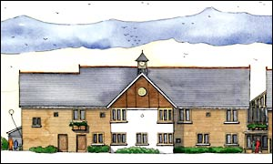 Care home for the elderly to be built in Turn Furlong, Northamptonshire