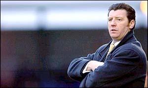 Carlisle United boss Roddy Collins