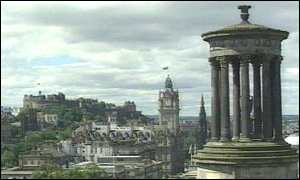 Edinburgh general view