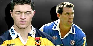 Dream team: Robbie Paul and Paul Sculthorpe