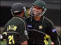 Abdul Razzaq (right) had a huge tournament in 1999