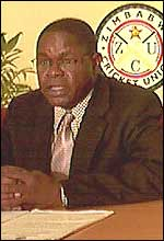 Zimbabwe Cricket Union chairman Peter Chingoka
