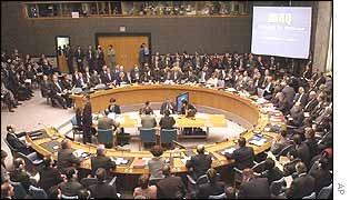The Security Council on 5 February