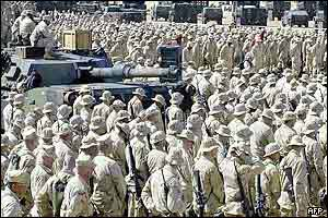 US troops in Kuwait