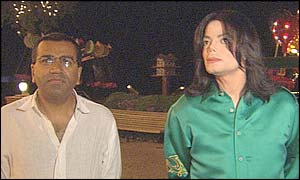 Martin Bashir with Michael Jackson