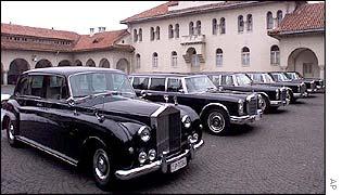 Tito's limo fleet