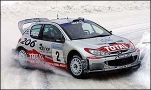 Peugeot's Marcus Gronholm