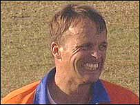Holland captain Roland Lefebvre