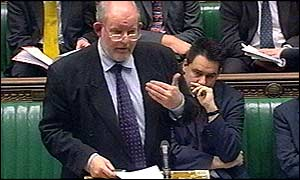 Charles Clarke in Commons