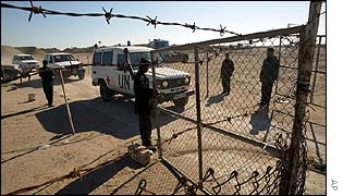 UN weapons inspectors search site in Iraq